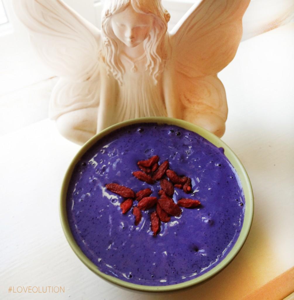 blåbärspudding