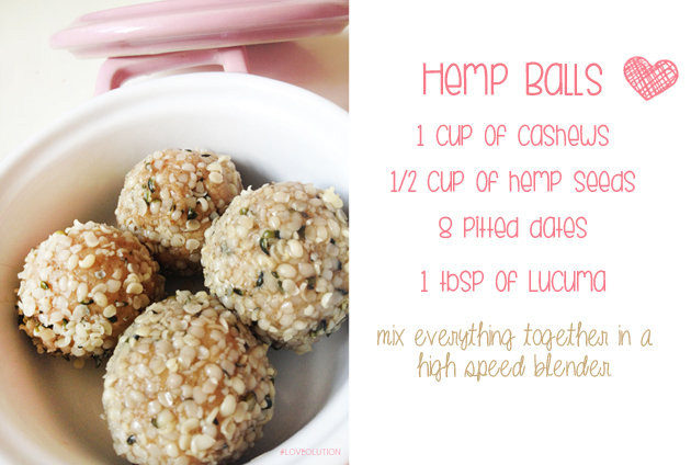 hemp balls free recipe raw food