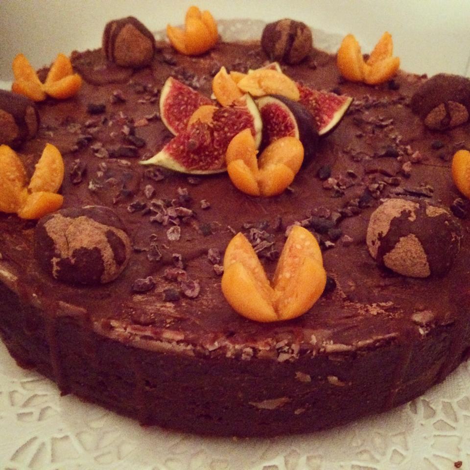 raw vegan cake
